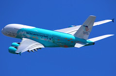 "Hi Fly Malta Airbus A380-841 ""Save the Coral Reefs"" 9H-MIP"
