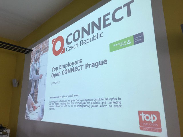 Top Employers Open CONNECT Event Czech Republic @ 13.06.2019 Prague