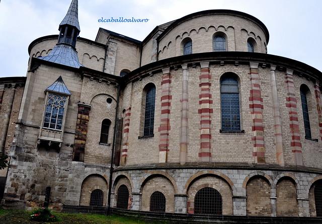 663 – Ábside - Iglesia St. Maria im Kapitol – Köln (Germany).