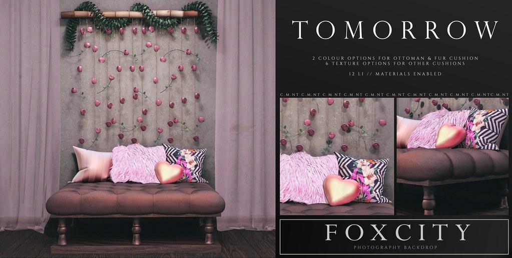 FOXCITY. Photo Booth – Tomorrow