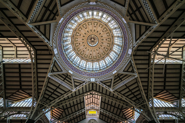 the dome above the groceries