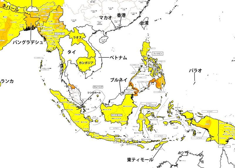 マレーシアサバ州の治安