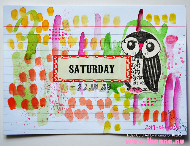 ICAD June 22: Saturday
