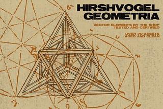 Hirschvogel geometria vector assets - Hero shot