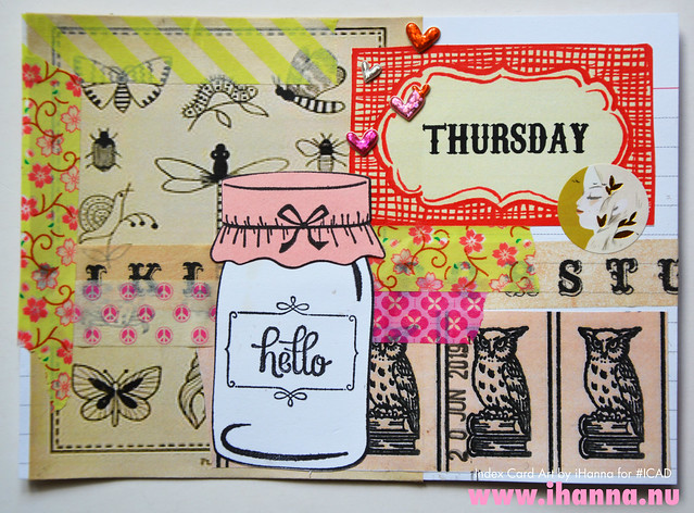 ICAD June 20: Hello Thursday by iHanna, Photo copyright Hanna Andersson, Studio iHanna #ICAD
