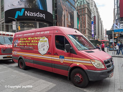 FDNY Fire Safety - Education Unit Van, Times Square, New York City