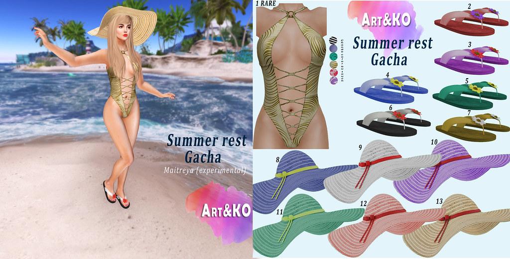 Art&KO – Summer rest GACHA