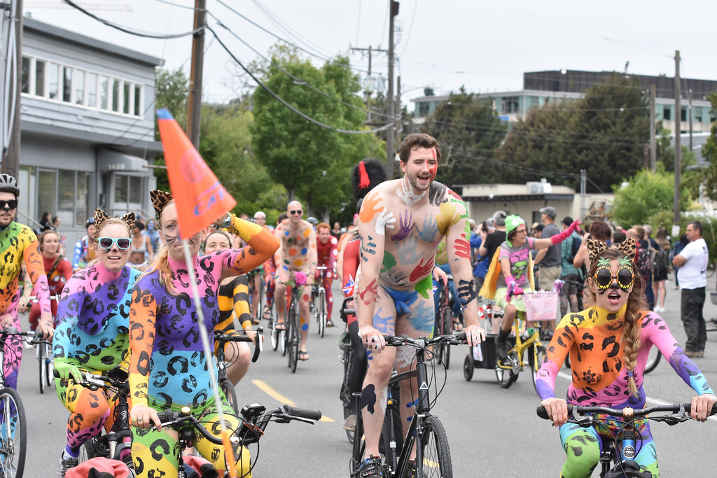 Fremont Naked Bike Riders | Fremont Summer Solstice nude