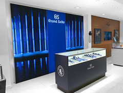 Wall Mounted Lightbox for Grand Seiko