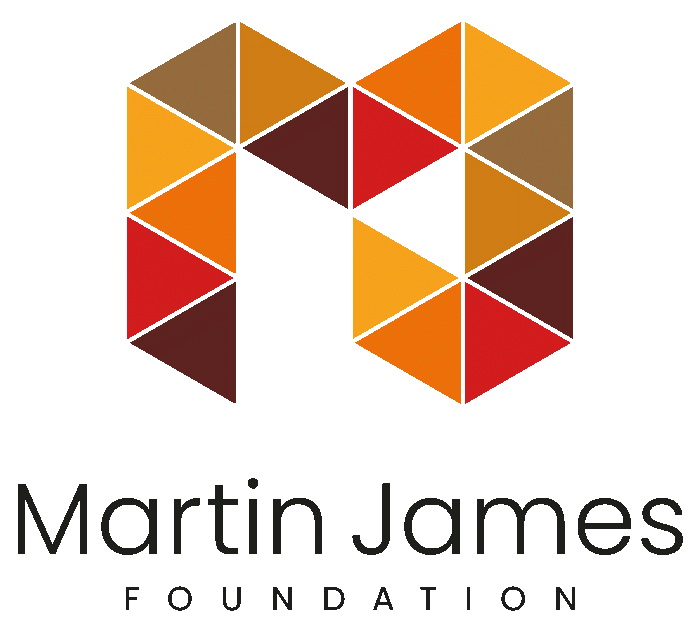 The Martin James Foundation logo