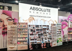 SEG Lightbox Display for Absolute New York Tradeshow Booth