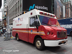 FDNY Ceremonial Unit Truck, Times Square, New York City