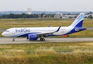 F-WWBY Airbus A320 Néo Indigo s/n 9072
