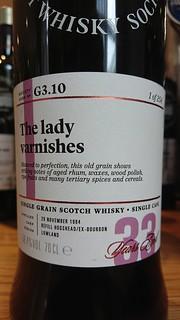 SMWS G3.10 - The lady varnishes