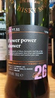 SMWS 77.51 - Flower power shower