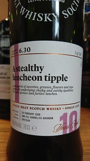 SMWS 6.30 - A stealthy luncheon tipple