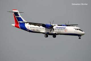 ATR.72-600 CUBANA F-WWEV 1564 TO CU-T 24 06 19 TLS