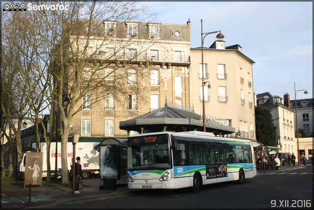 Irisbus Citélis 12 - Cars Perrier (RATP Dev) / STIF (Syndicat des Transports d'Île-de-France) – Sqybus n°345