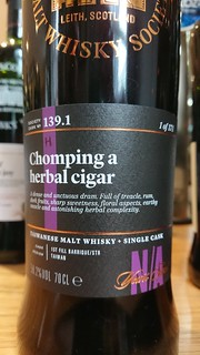 SMWS 139.1 - Chomping a herbal cigar