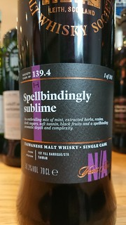 SMWS 139.4 - Spellbindingly sublime