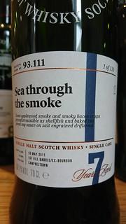 SMWS 93.111 - Sea through the smoke