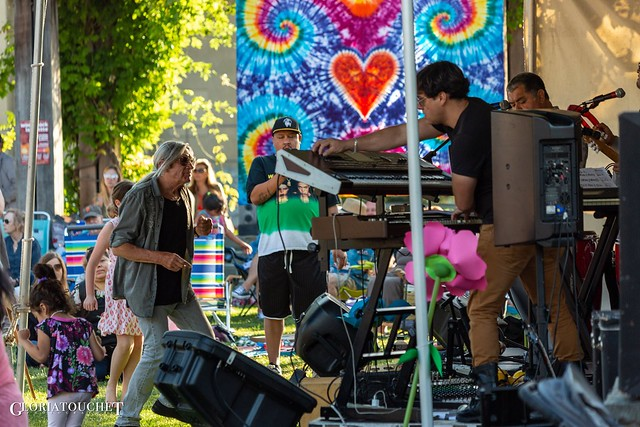 June 14, 2019 - Woodstock Lafayette Rock the Plaza Concert Series with ZEBOP! Photos by Gloria Touchet