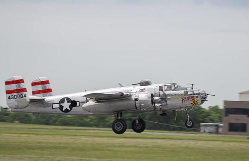 B-25 Panchito Taking Off