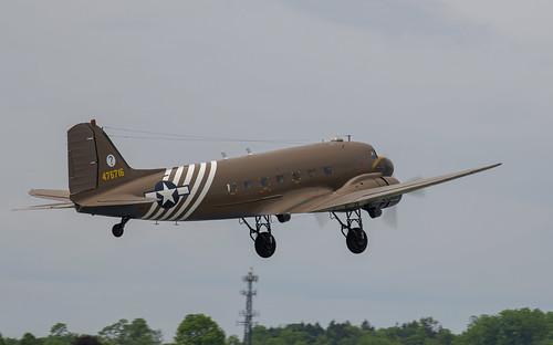 CBI Marked C-47 Taking Off