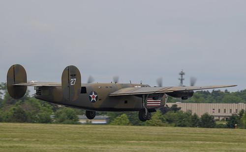 B-24 Just Lifting Off