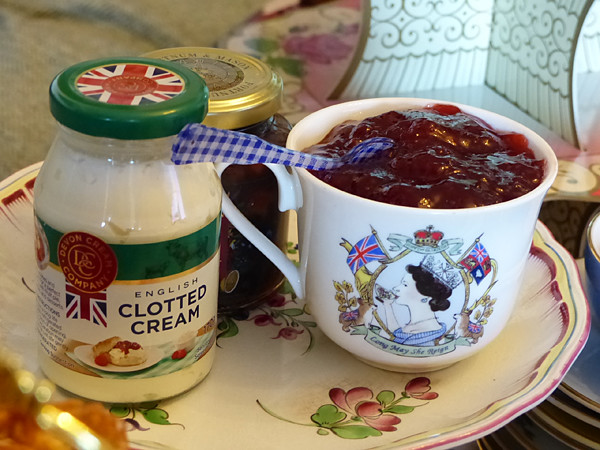 cream and jam
