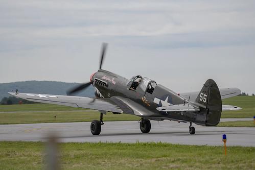 Dual Controled P-40 Warhawk