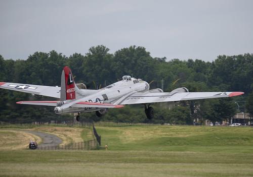 B-17G Taking Flight
