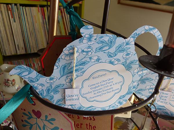 invitation high tea