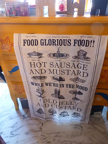 food, glorious food !