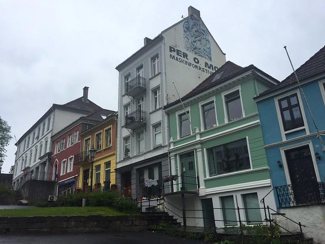 Bergen on a rainy day