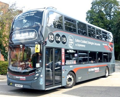 SN66 WDP 'NXWM Platinum' No. 6810 'X3, X4, X5. Alexander Dennis Ltd. (ADL) E40D / 'ADL' Enviro 400MMC on Dennis Basford's railsroadsrunways.blogspot.co.uk'