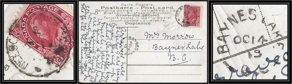 British Columbia B C Postal History 13 14 October 1 Flickr