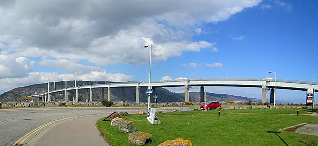 Kessock Bridge From West stitch