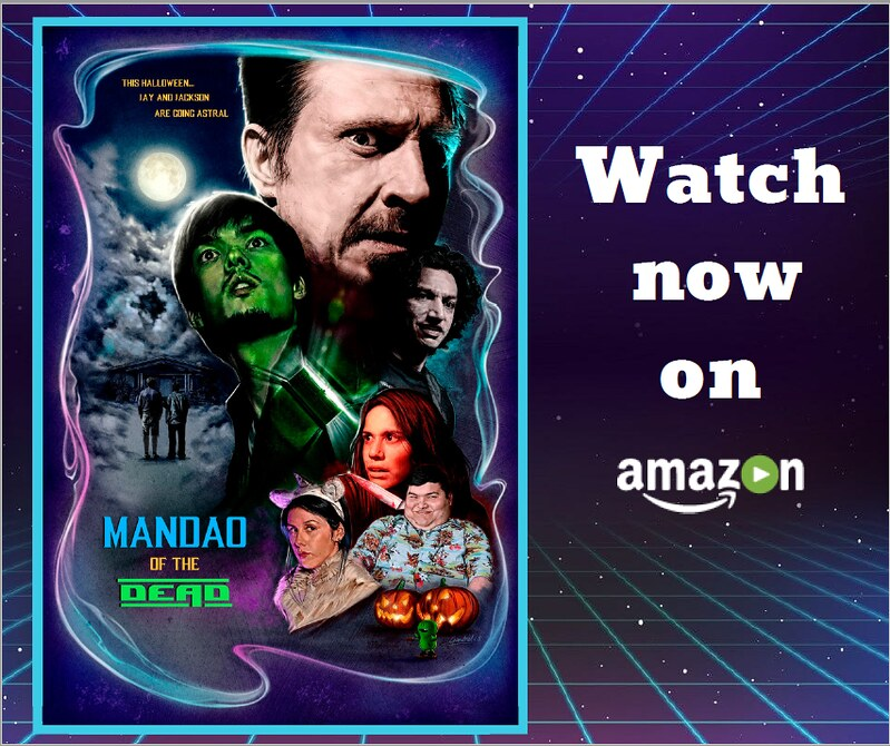 Mandao of the Dead horror sci-fi comedy trailer reaction and press release amazon prime poster
