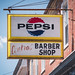 Vintage Pepsi sign in Woodstock, Virginia