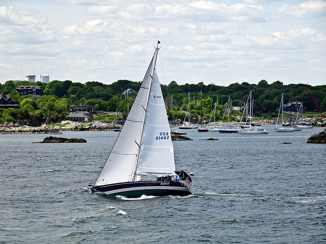 photo - A Windy Day on Narragansett Bay