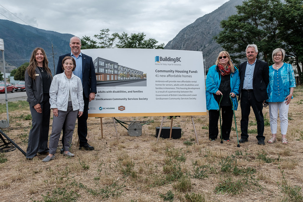 More families and seniors in Keremeos will have an affordable place to call home thanks to a partnership between the Province and the Lower Similkameen Community Services Society.