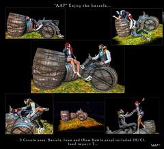 POSES: *AAP* Enjoy the barrels...