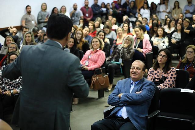 Ministro do TCU Augusto Nardes palestra na Saúde sobre governança