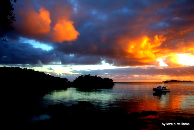 Pacific Sunset  by iezalel williams - Isle of Pines in New Caledonia - IMG_7592 - Canon EOS 700D