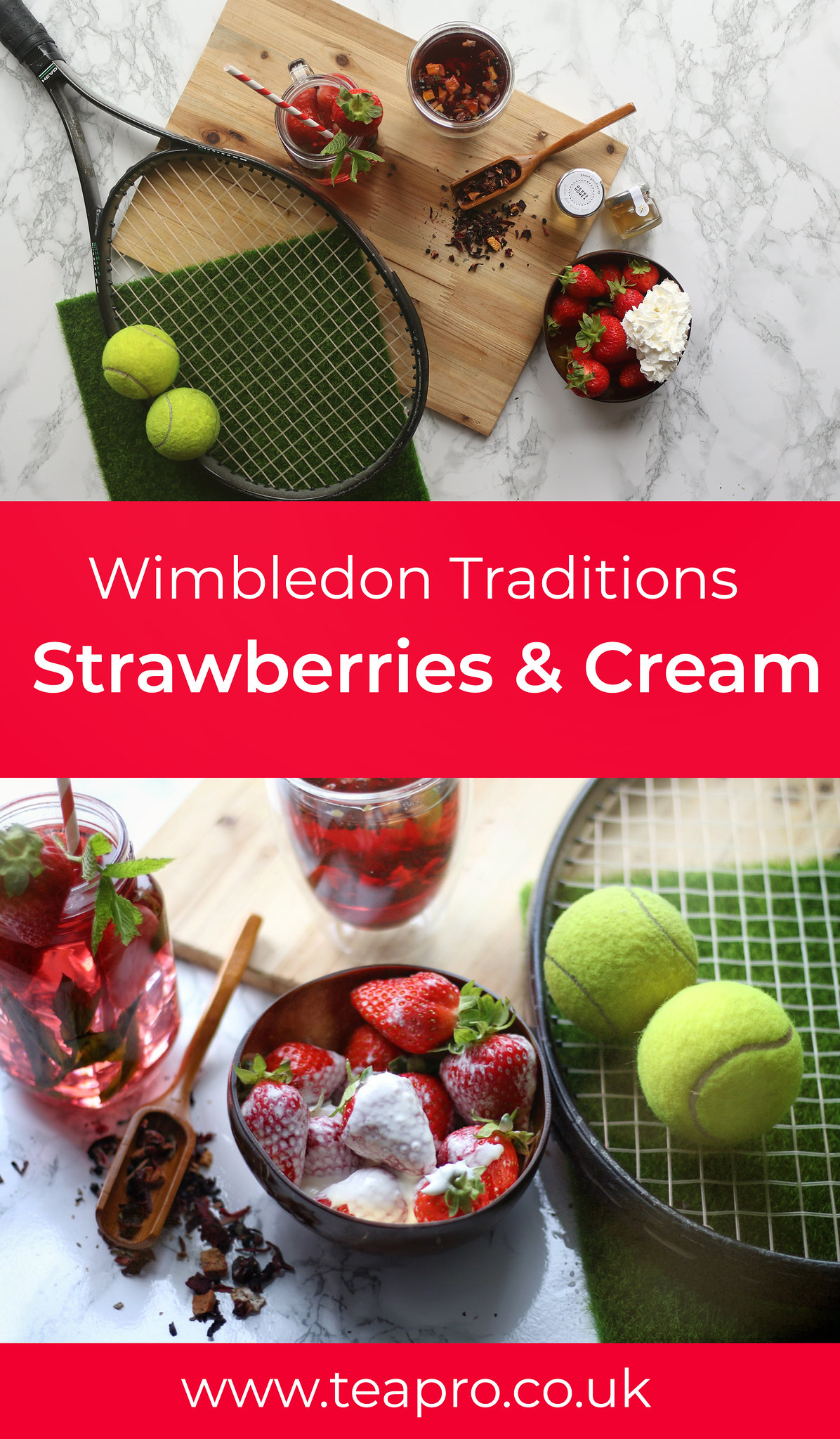 Wimbledon Tennis and Strawberries and Cream traditions
