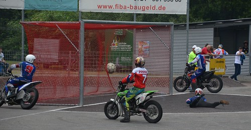 Motoball-EM 2019 (European Motorbike-Football Championships) in Rheinstetten-Mörsch