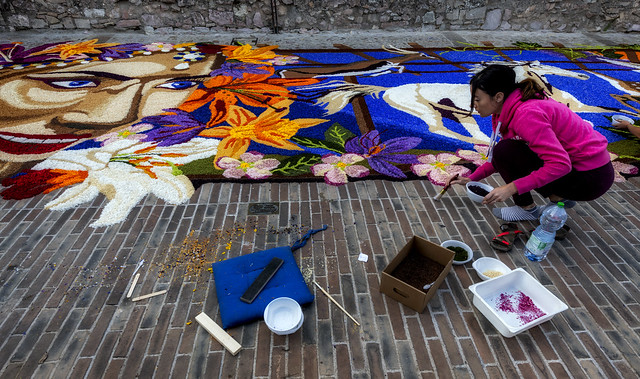 The floral paintings of Spello