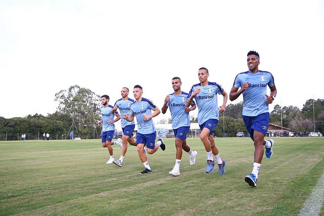 Treino Grêmio 24/06/19
