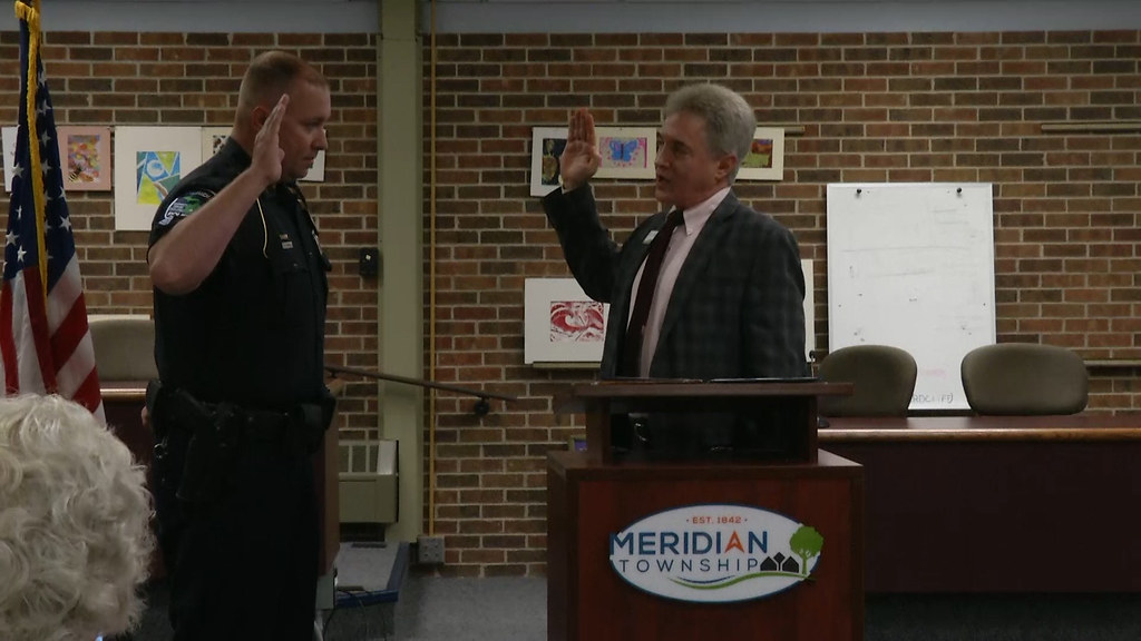 Meridian Police Department Promotes One Officer and Hires Another